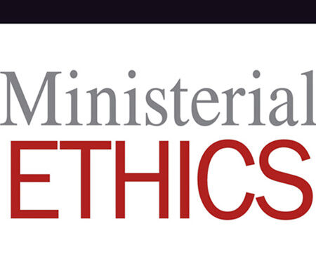 book cover ministerial ethics
