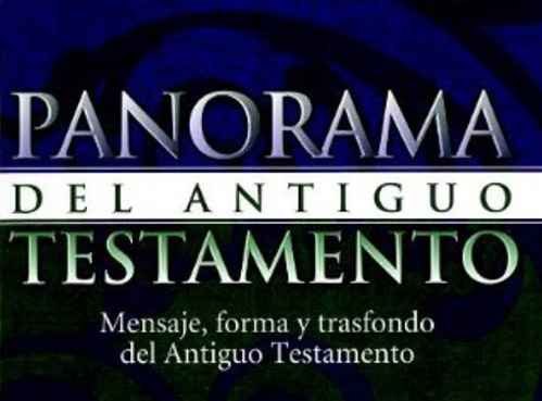 book cover panorama del antiguo testamento