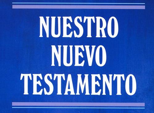 book cover nuevo testamento