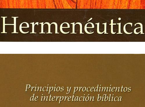 book cover hermeneutica