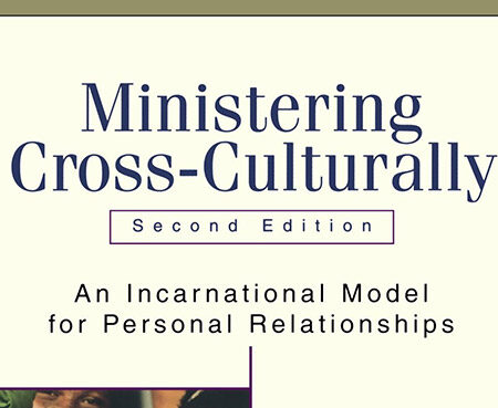 book cover ministering cross-culturally